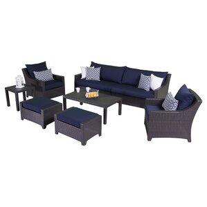 Northridge 8 Piece Deep Seating Group With Cushions