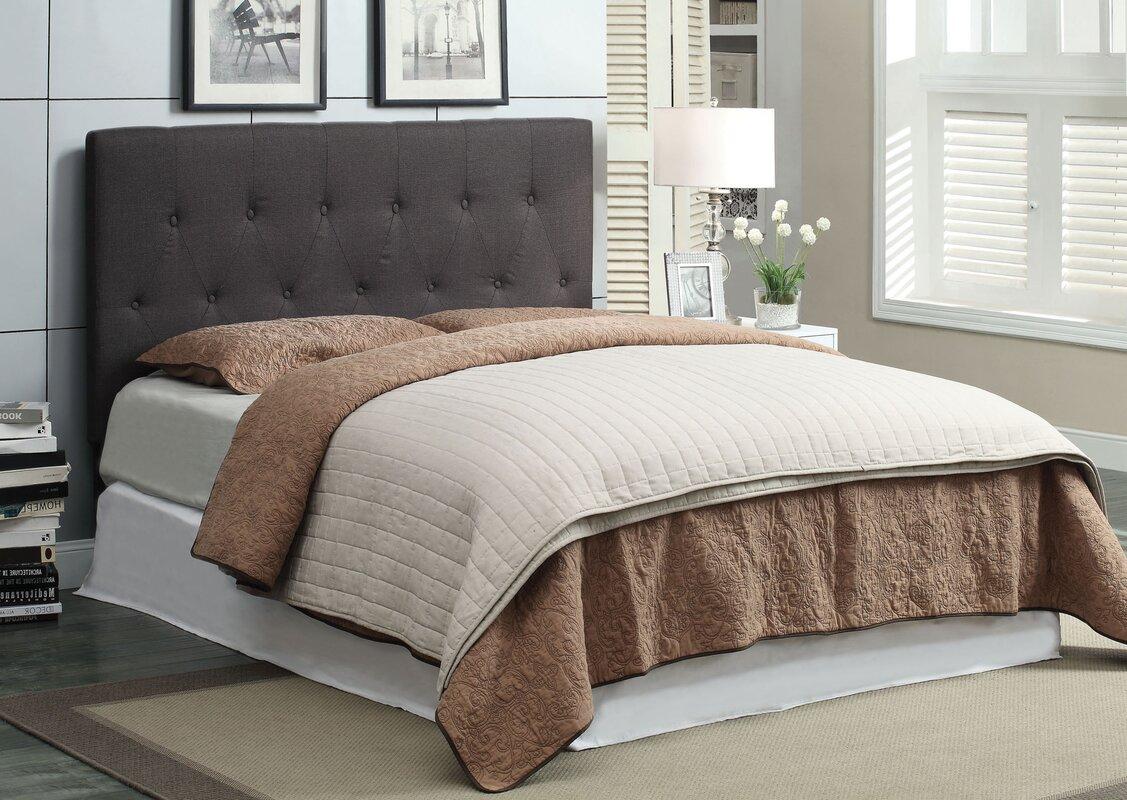 Ebern Designs Nageshwar Platform Bed Reviews: Hokku Designs Chernoll Upholstered Platform Bed & Reviews
