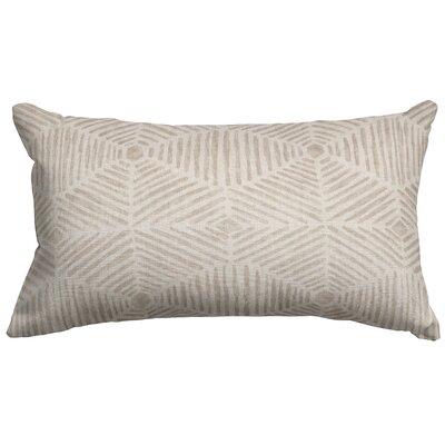Trule Teen Ashby Cotton Lumbar Pillow Color: Beige