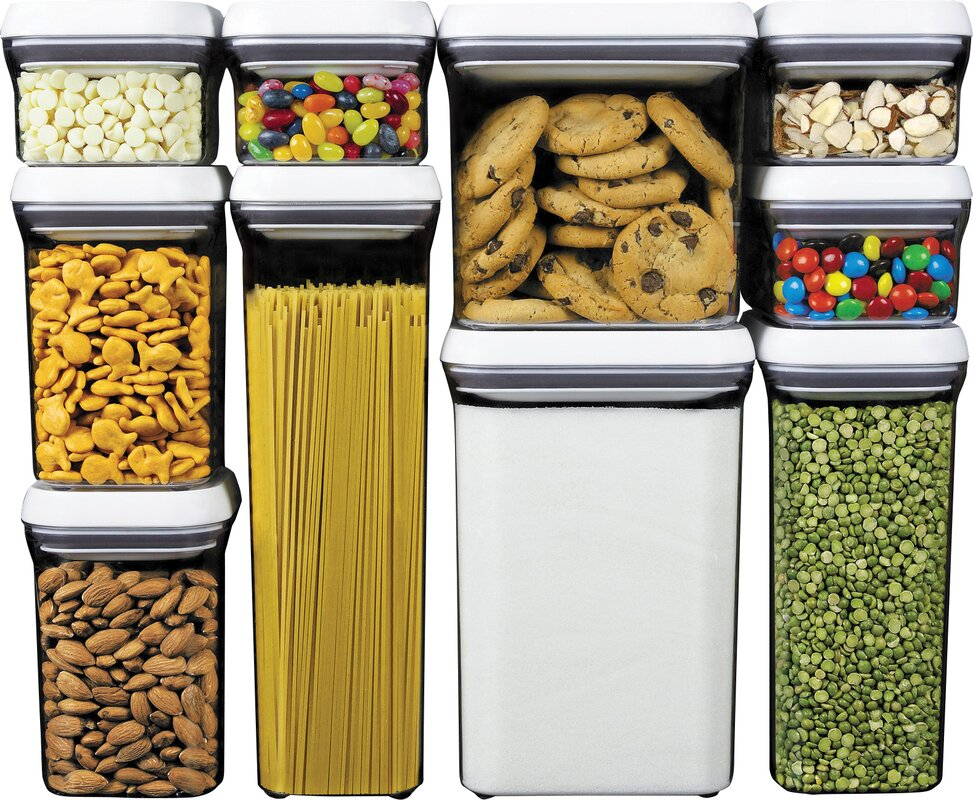 Oxo Good Grips  Piece Food Storage Pop Container Set