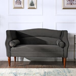 Joanna Camelback Loveseat by Jennifer Taylor