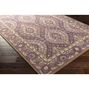 Dover Hand-Tufted Dark Purple Area Rug
