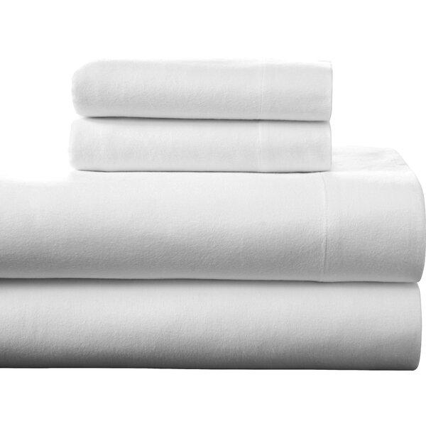 Pointehaven 100% Cotton Flannel Sheet Set U0026 Reviews | Wayfair