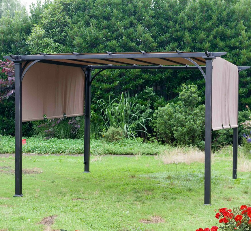 Replacement Canopy for Summerhouse Pergola & Sunjoy Replacement Canopy for Summerhouse Pergola u0026 Reviews | Wayfair