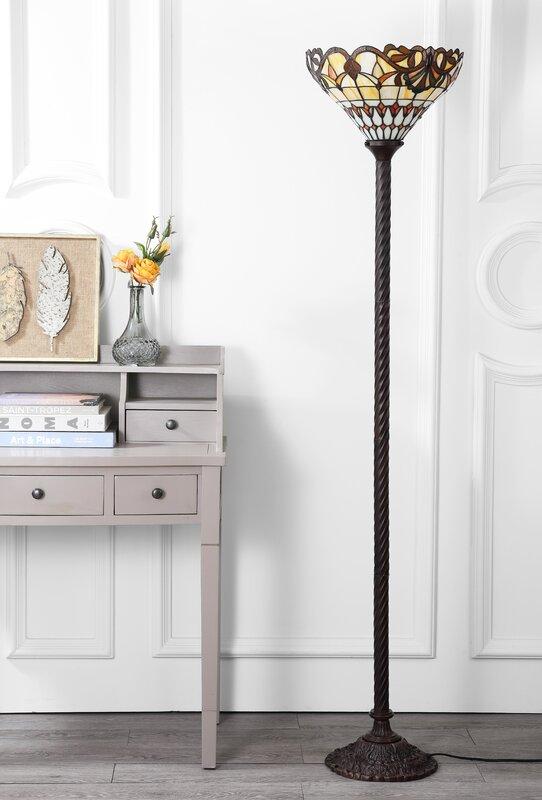 led floors voyeger lamp ebern designs pdp torchiere floor pawlowski lighting