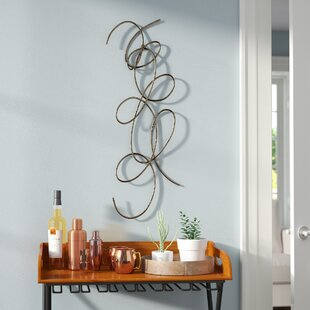 Silver Metal Wall Decor