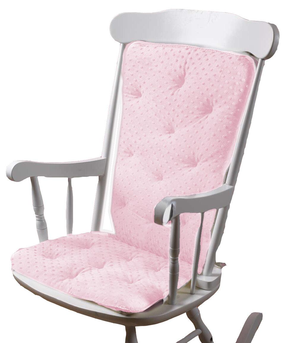 Babydoll Bedding Heavenly Soft Rocking Chair Cushion Reviews Wayfair