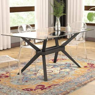 Modern contemporary kitchen dining tables youll love wayfair gober dining table workwithnaturefo