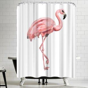4b3653d169b7 Flamingo Curtains   Wayfair