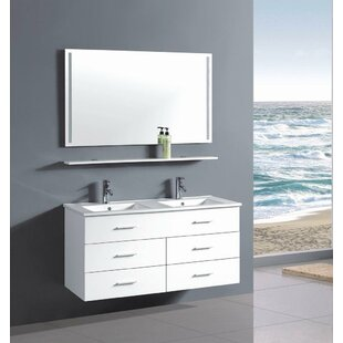 double sink vanity 48 inches.  48 Inch Double Sink Vanity Set Wayfair