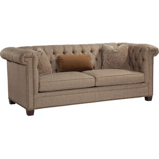 Lovely High Back Tufted Chesterfield Sofa