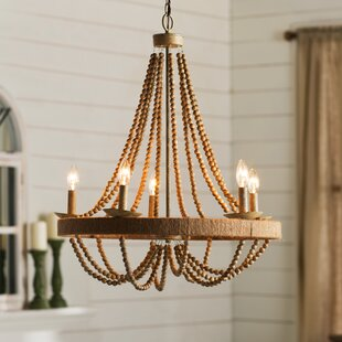 Coastal chandeliers youll love wayfair tremiere 5 light candle style chandelier mozeypictures Image collections