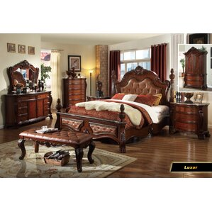Berna Panel Customizable Bedroom Set