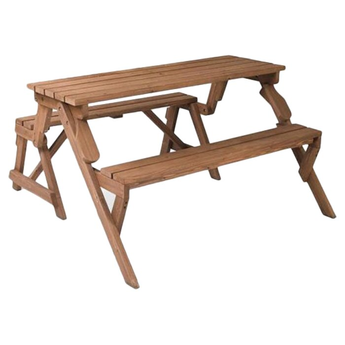 Marvelous Andres Folding Picnic Table And Bench