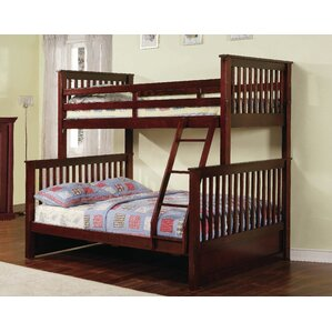 Tavian Twin over Full Bunk Bed by Harriet Bee