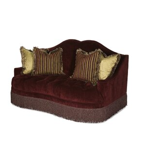 Michael Amini (AICO) Imperial Court Tufted Loveseat