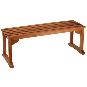 Kenshawn Wood Bench by Highland Dunes