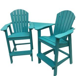 Bon Tall Outdoor Balcony Chairs | Wayfair
