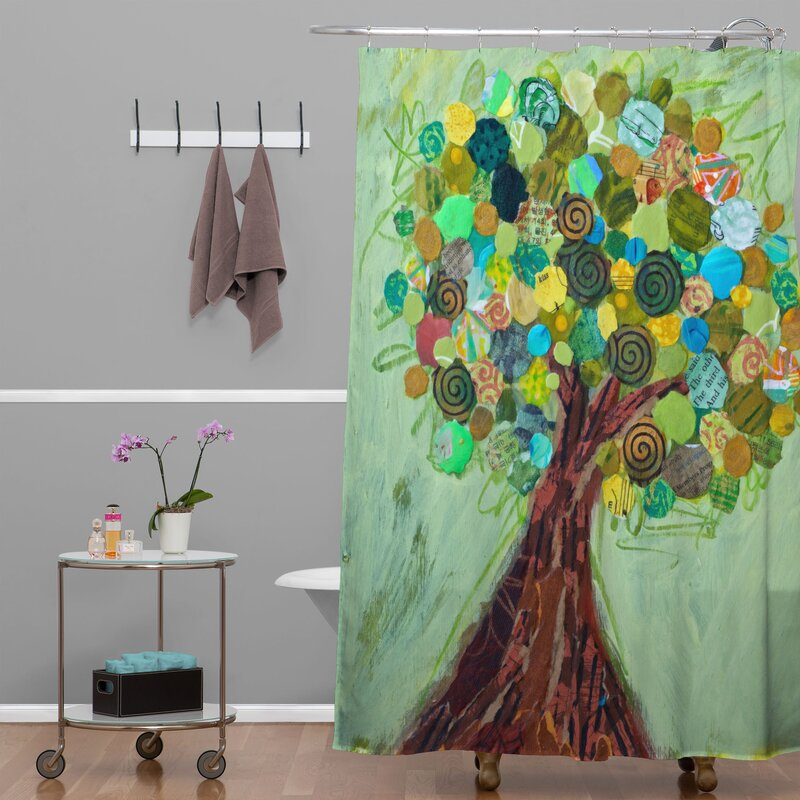 Elizabeth St Hilaire Nelson Spring Tree Shower Curtain