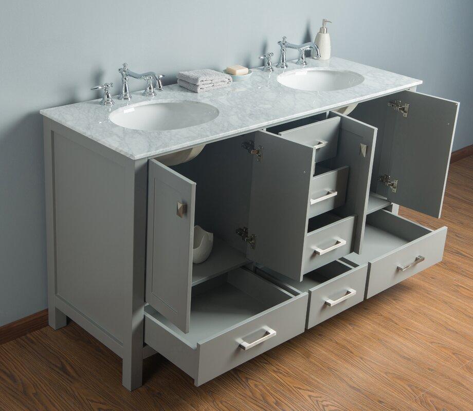 60 double sink bathroom vanities. Ankney 60\ 60 Double Sink Bathroom Vanities I