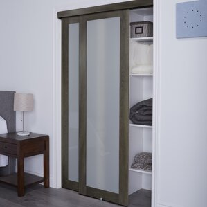 Baldarassario 1 Lite 2 Panel MDF Sliding Interior Doors & Interior Doors Youu0027ll Love | Wayfair pezcame.com