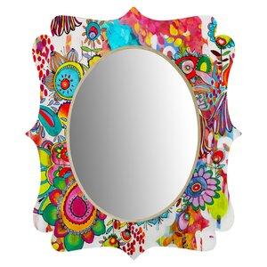 Stephanie Corfee Miss Penelope Quatrefoil Wall Mirror
