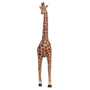 Malee Emerging Wall Grande Giraffe Animal Garden Statue