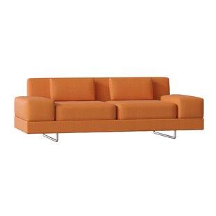 Modern Orange Sofas + Couches | AllModern