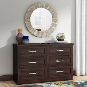 Ahlstrom 6 Drawer Double Dresser by Latitude Run