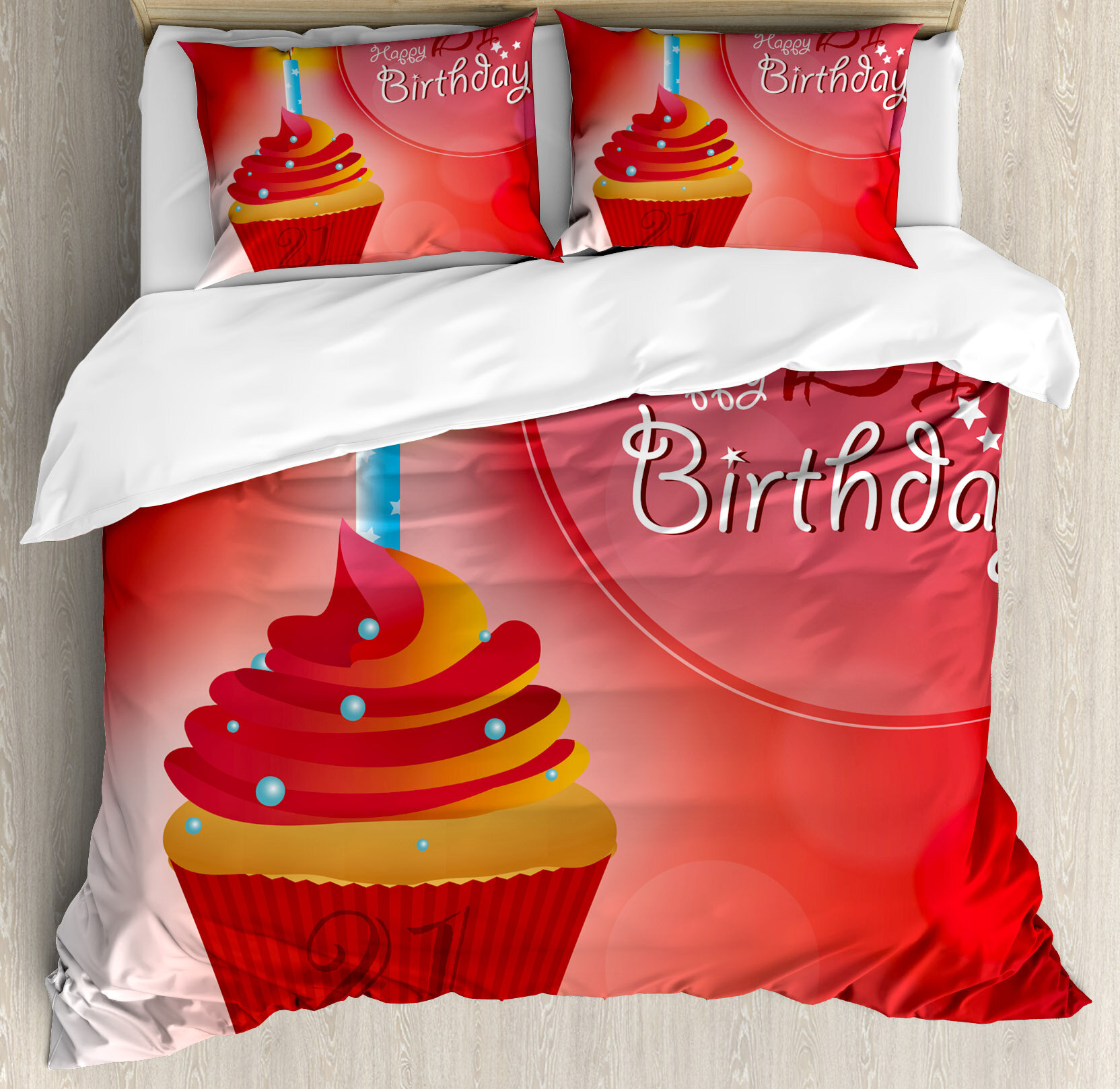 ambesonne 21st birthday decorations abstract sun beams backdrop