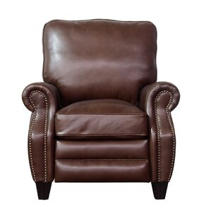 Ponteland Leather Recliner  sc 1 st  Wayfair : brown leather recliner chairs - islam-shia.org