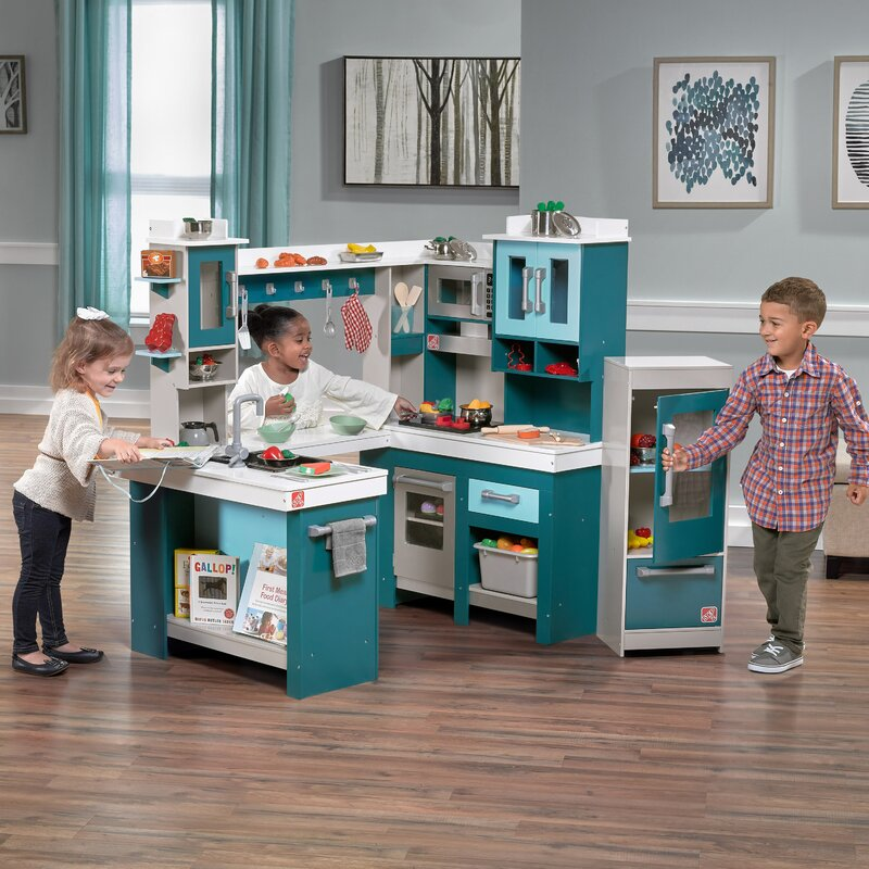 4c1a9b302477 Step2 Grand Walk Wood Kitchen Set & Reviews | Wayfair