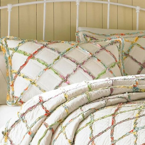 Laura Ashley Home Ruffled Garden Quilt Collection By Laura Ashley Home Wayfair