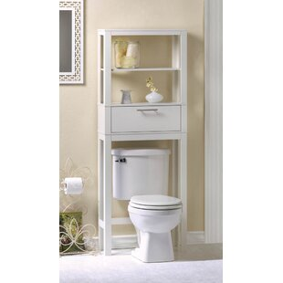 vogue saver 2375 w x 62 h over the toilet storage - Over The Toilet Cabinet