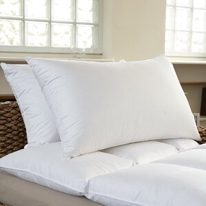 Premium Bed Feather Pillow (Set of 2) by Sweet Home Collection