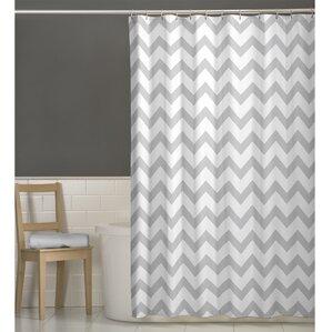 Perfect Raminez Chevron Shower Curtain