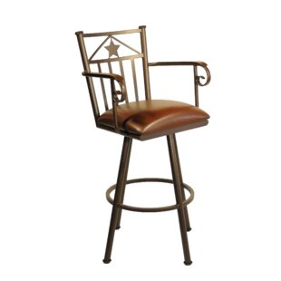 Andy 34 Swivel Bar Stool Cool