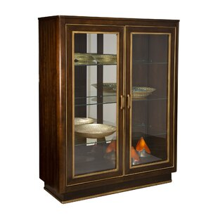 Retford Display Lighted Curio Cabinet