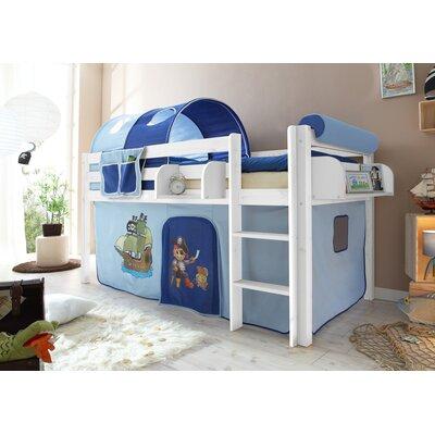 Kinderbetten art der hoch etagenbetten halbhochbetten zum verlieben - Hochbett vorhang frozen ...