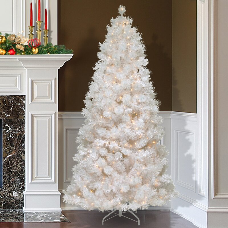 2 Ft White Christmas Tree: The Holiday Aisle 7.5' White Grande Slim Artificial