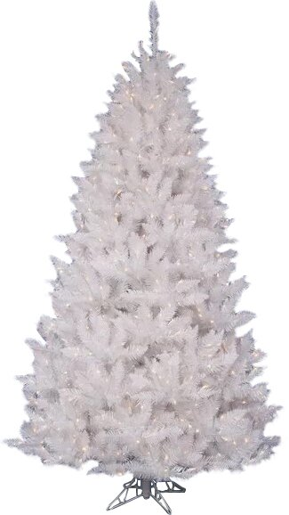 The Holiday Aisle Crystal White Spruce 3.5' Artificial Christmas ...