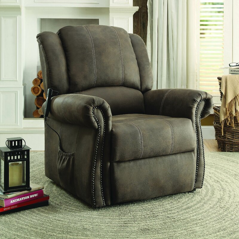... Cedar Rapids Furniture By Three Posts Cedar Rapids Power Lift Assist  Recliner ...