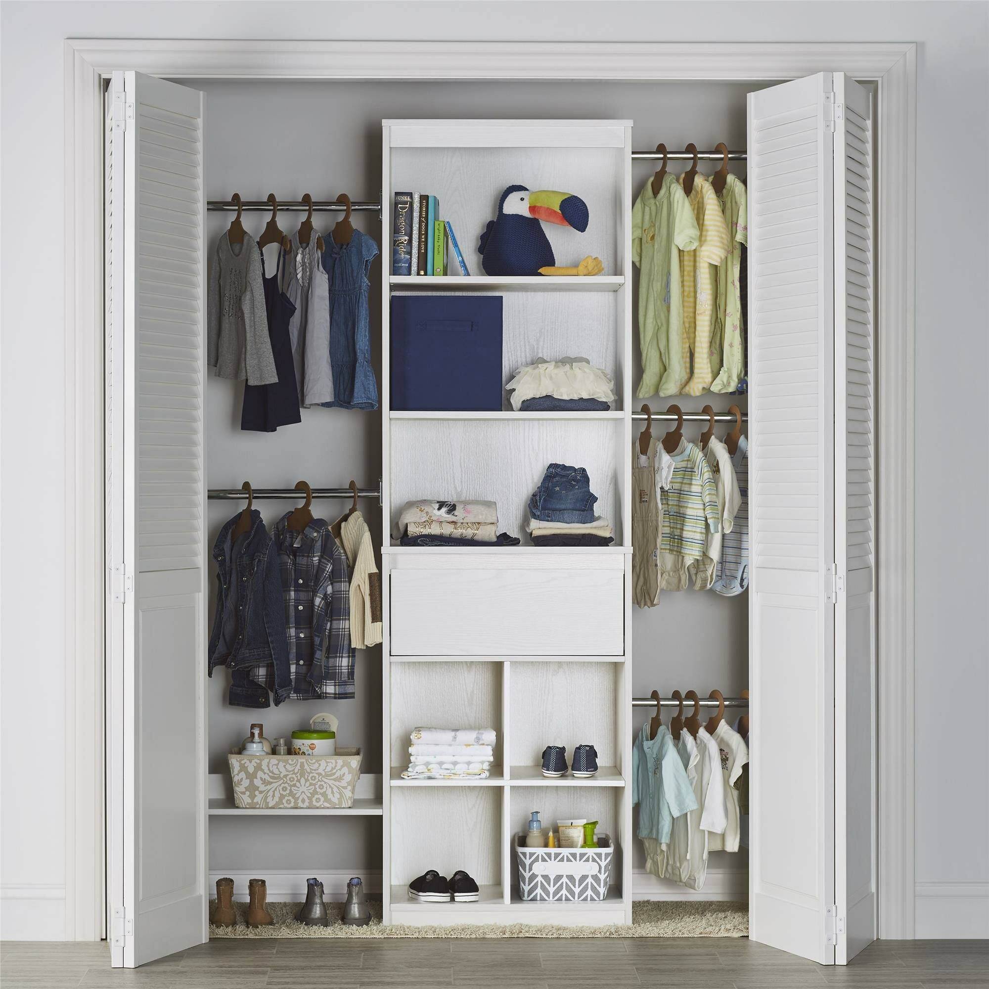 Little Seeds Grow With Me Closet System Reviews Wayfair