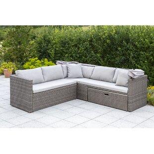 Marra Garden Corner Sofa With Cushions