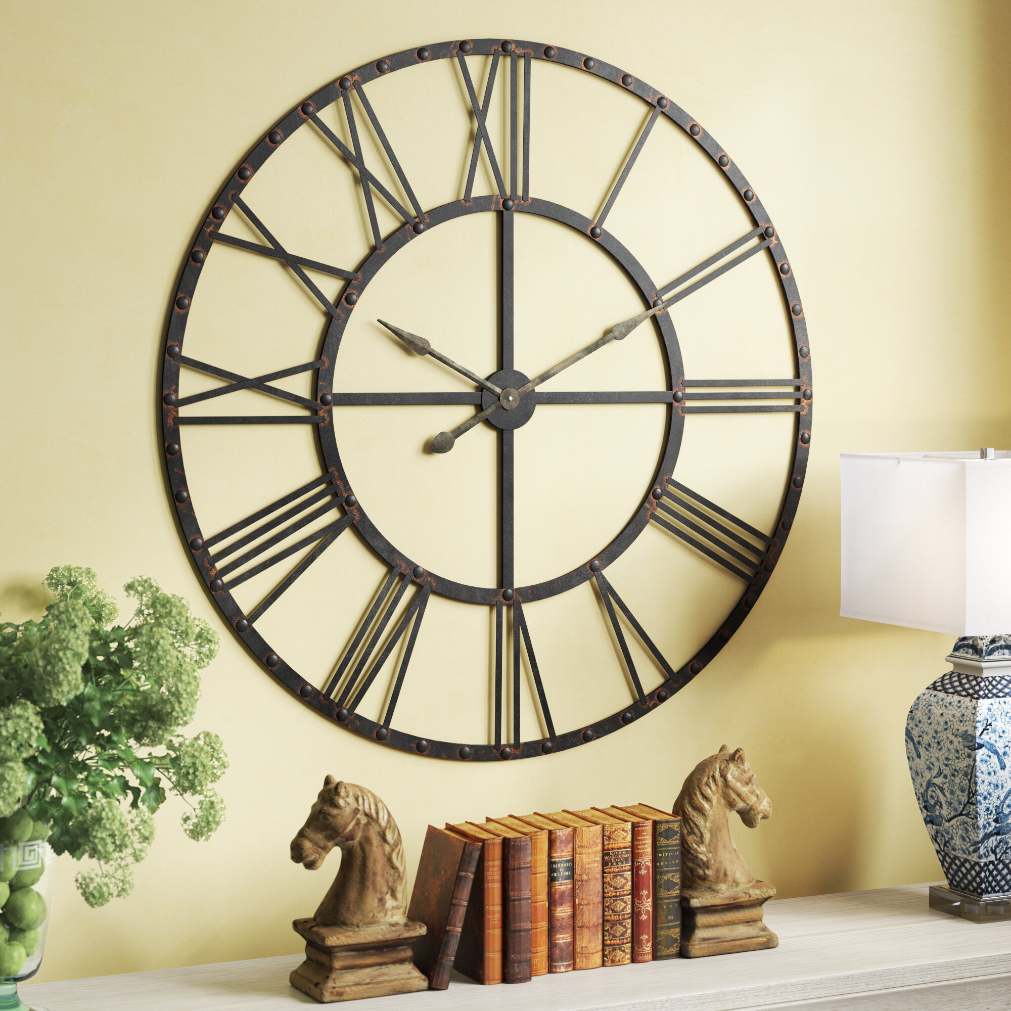 Oversized Wall Clocks You'll Love in 2019 | Wayfair