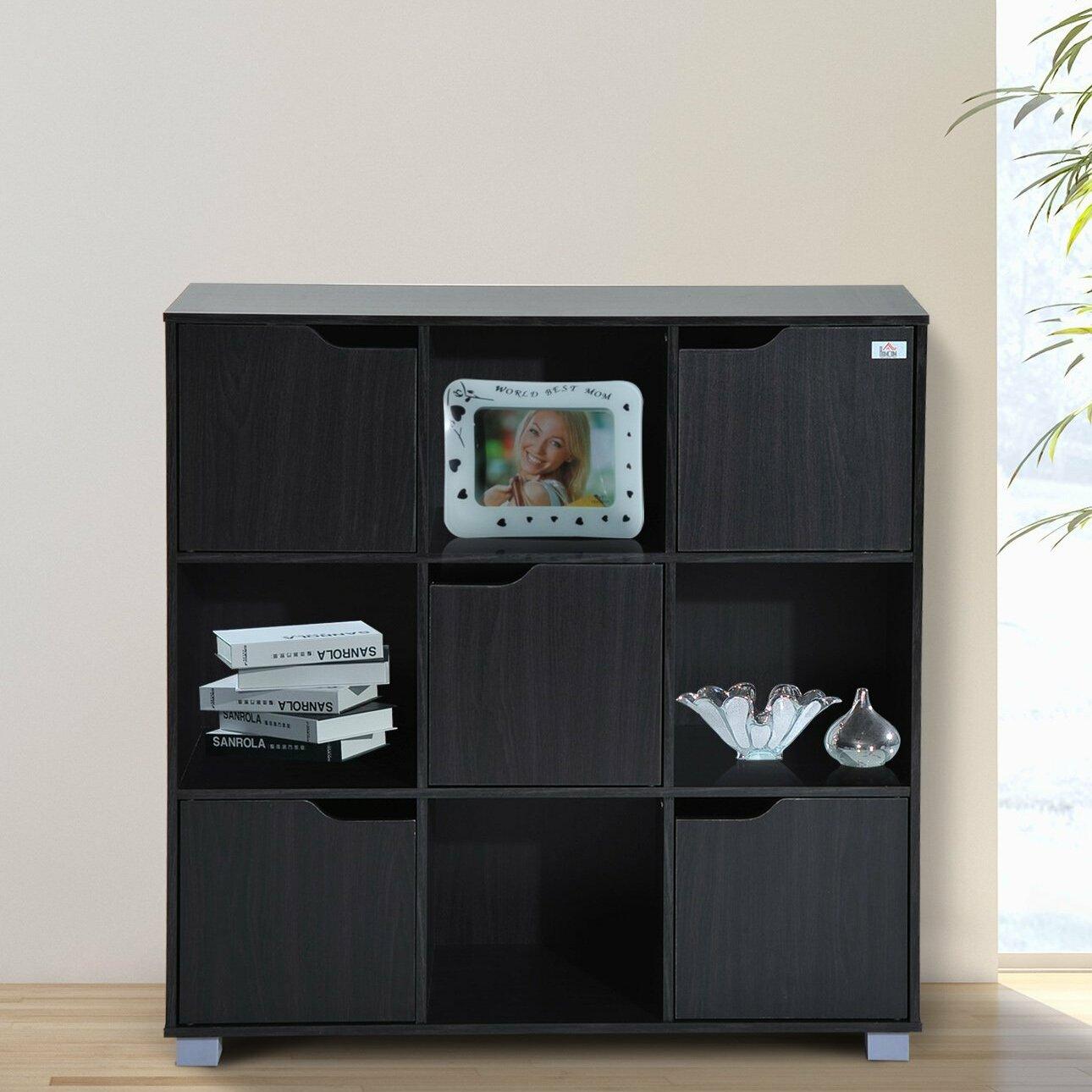 Attirant Red Barrel Studio Thiessen 9 Cubby Storage Organizer Cube Unit Bookcase U0026  Reviews   Wayfair