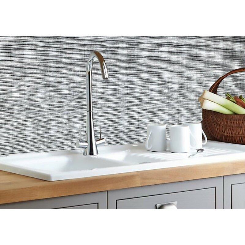 ebern designs sahara pvc backsplash tiles kitchen bathroom