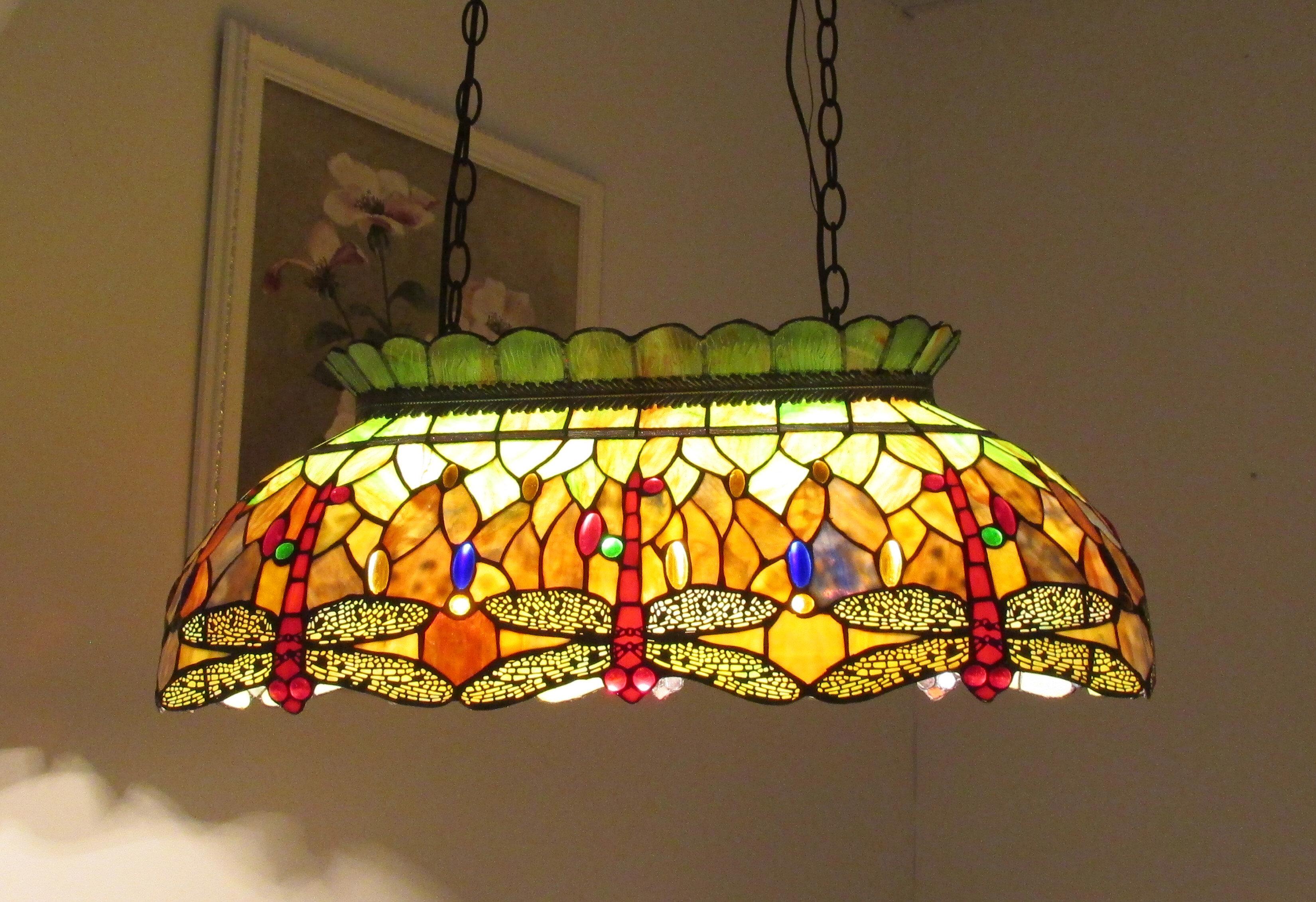 Astoria Grand Thames Dragonfly 3 Light Pool Table Light U0026 Reviews | Wayfair