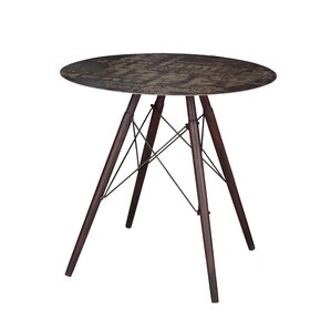 Cindi Cafe Dining Table by 17 Stories