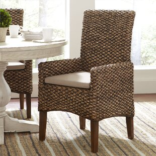 Charmant Woven Seagrass Arm Chairs (Set Of 2)